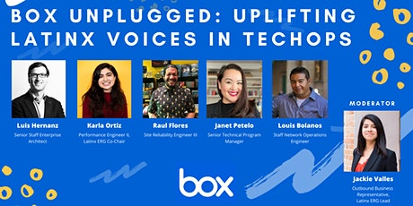 Box Unplugged: Uplifting Latinx Voices in TechOps tickets