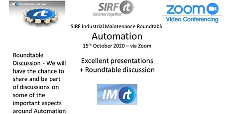 VICTAS IMRt Automation Roundtable - via Zoom tickets