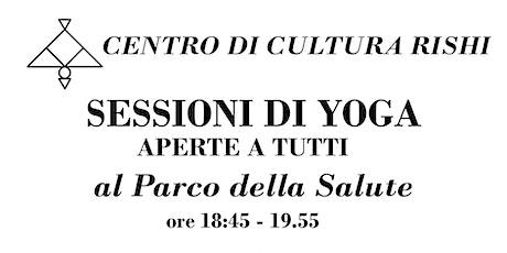 Sessioni di Yoga aperte a tutti biglietti