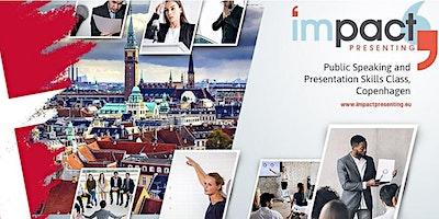1-Day Copenhagen IMPACT Presenting - Public Speaki