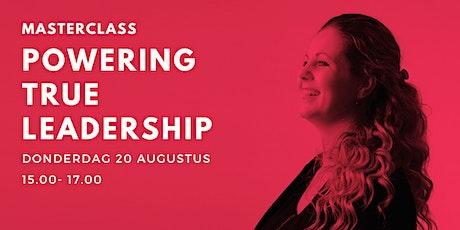 Online Masterclass 'Powering True Leadership' tickets