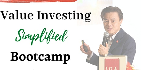 Value Investing Simplified Bootcamp Gathering 02 tickets