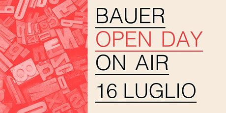 Open Day On Air! - 16 luglio 2020 biglietti