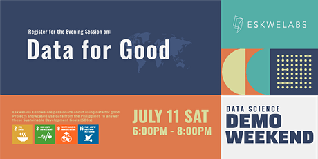 """Data for Good""  Evening Session 