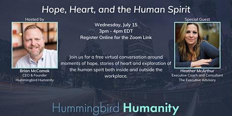 Conversations of Hope, Heart, and the Human Spirit tickets