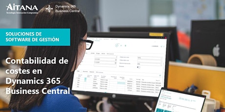 Contabilidad de costes en Dynamics 365 Business Central boletos