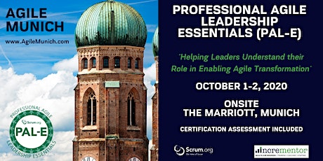 Agile Munich | Certified Training | Professional Agile Leadership (PAL-E) Tickets
