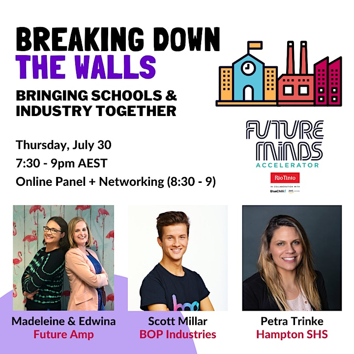 Breaking down the walls :: Bringing schools and industry together image