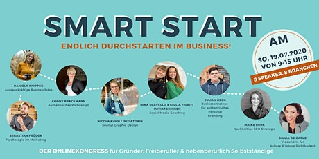 WEBINAR: Smart Start - endlich durchstarten im Business tickets