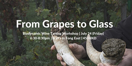 Grapes to Glass - Biodynamic Wine Tasting SDG workshop tickets