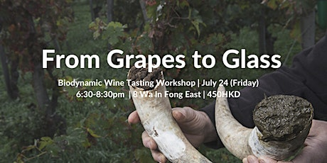Grapes to Glass - Biodynamic Wine Tasting SDG workshop tickets