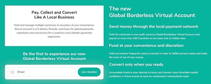 IFTA CHAT WITH CEO: Global Virtual Borderless Account by TranSwap Benjamin image