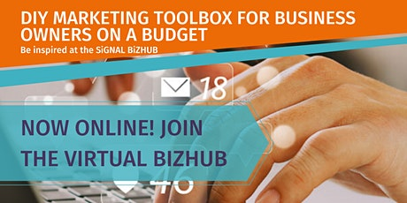 DIY MARKETING TOOLBOX FOR BUSINESS OWNERS ON A BUDGET tickets