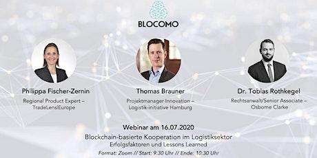 Blockchain-basierte Kooperation im Logistiksektor (Webinar) Tickets