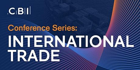 CBI Conference Series: International Trade tickets