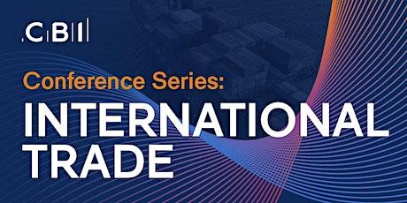 CBI Conference Series: International Trade ingressos