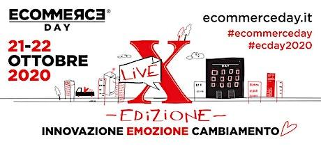 EcommerceDay - X Edizione - appuntamento annuo con l'intero mondo Ecommerce biglietti