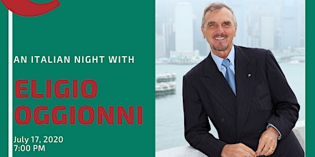An Italian night with Eligio Oggionni tickets