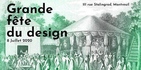 Grande fête du design billets