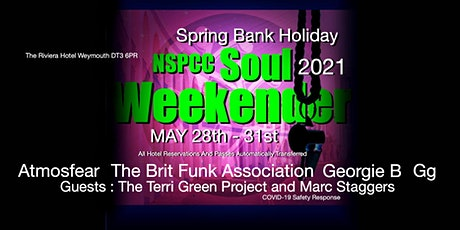 Spring Bank Holiday 2021 The NSPCC Soul Weekend Weymouth & NHS Day tickets
