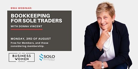 Online, BWA Webinar: Bookkeeping For Sole Traders tickets