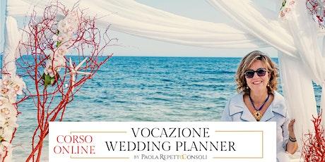Vocazione Wedding Planner corso completo online biglietti