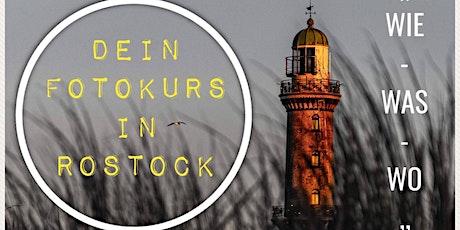 """Foto Workshop """"WIE-WAS-WO"""" Rostock Tickets"""