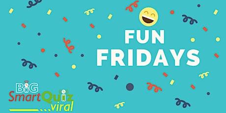 Fun Friday Live Online Quiz tickets