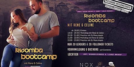 Kizomba Bootcamp mit Rene & Celine tickets