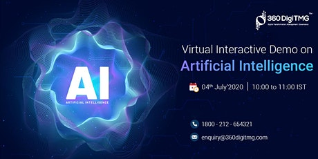 Artificial Intelligence| Virtual Interactive Demo tickets