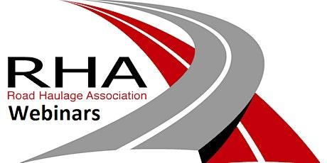 RHA Webinars Tickets