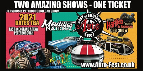 East of England AutoFest, East of England Arena - Postponed until 2021. tickets
