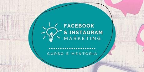 Facebook e Instagram na prática para Bibliotecários Brasil ingressos