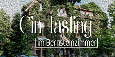 Gin Tasting in unserem Bernsteinzimmer *Corona-konform Tickets