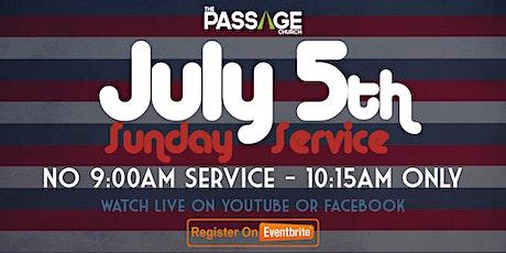 Passage Church Worship Service - July 5th tickets