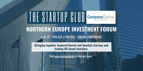​Northern Europe Investment Forum Presentation tickets