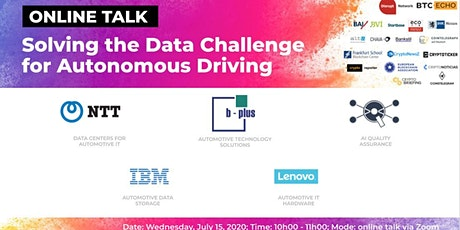 Solving the Data Challenge  for Autonomous Driving (Online Talk) tickets