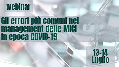 Gli errori più comuni nel management delle MICI in epoca Covid19 biglietti