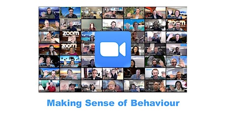 An Introduction to Making Sense of Behaviour - Online Event tickets