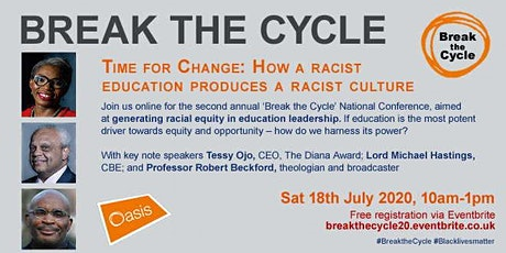 Break the Cycle: How a Racist Education Produces a Racist Culture tickets