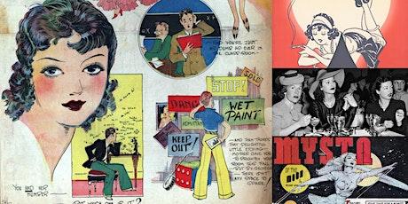 'The Untold Story of History's Greatest Women Cartoonists' Webinar tickets