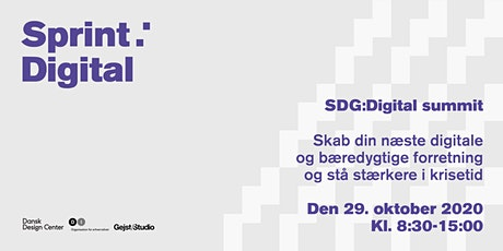 SDG:Digital summit tickets