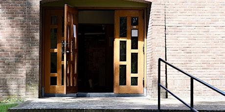 Open kerk aan de Koningslaan tickets