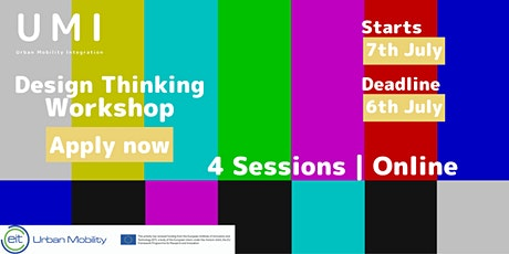 Workshop | Design Thinking for Urban Mobility Workshop tickets
