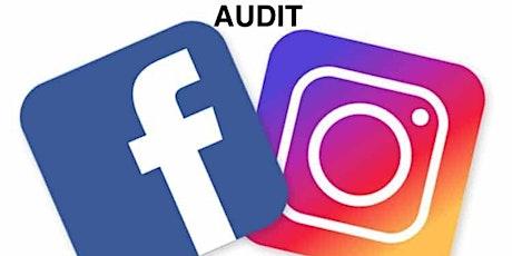 15mn Audit de votre compte Instagram ou Facebook ou Linkedin tickets