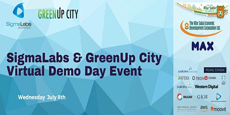 SigmaLabs & GreenUp City Virtual Demo Day tickets