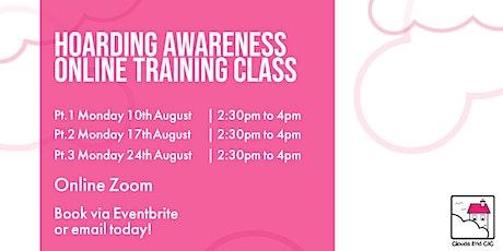 Hoarding Awareness Online Training Class tickets