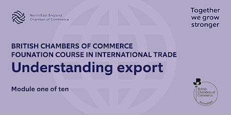 BCCFT: Understanding Export tickets