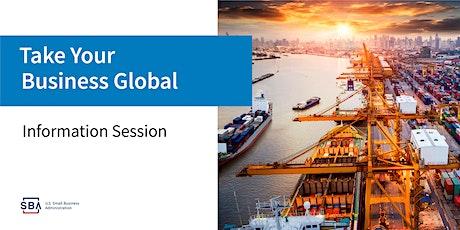 Export Webinar Series- Next Steps and Export Business Plan tickets
