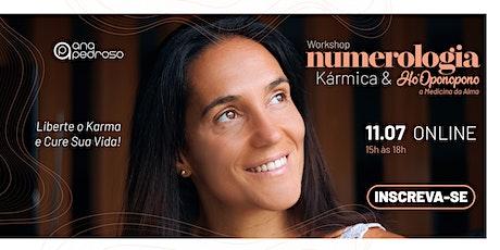 Workshop Numerologia Kármica & Ho'Oponopono tickets
